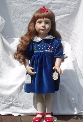 "14: 20"" Character Doll by Julie-Good Kruger,"