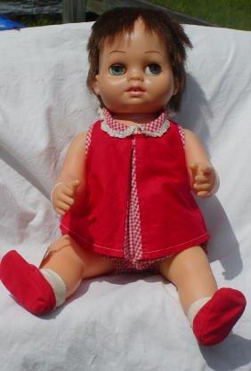 "16: 15"" Tiny Chatty Baby, Mattel, All Original"