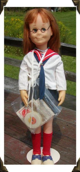 "18: 25"" All Original Charmin' Chatty Doll w/Records, Ma"