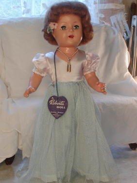"""21: 17"""" All Original Roberta Doll with Hang Tag"""