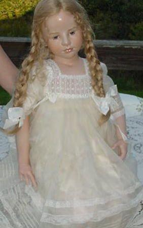 116:  Ltd Ed Wax--Porcelain Mary Rose,Hildegard Gunzel