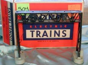 504: Lionel No. 450 Signal Bridge, Original Box