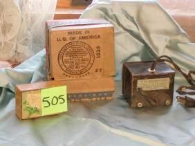 Lionel Junior Transformer, No. 1029, Original Box