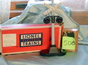 Lionel Automatic Road Crossing Signal, 154, Origin