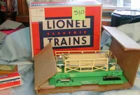 Lionel Operating Cattle Car, 3656, w/box