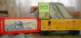 Lionel Rodeo Car No 6473, Original Box