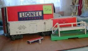 Lionel Operating Milk Car, No 3472, Original Box