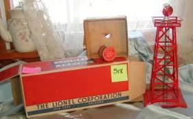 Lionel No 394 Rotating Beacon, Original Box
