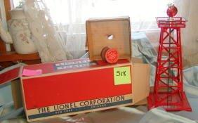 518: Lionel No 394 Rotating Beacon, Original Box