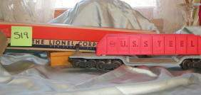 519: Lionel Machinery Car 6418, Original Box