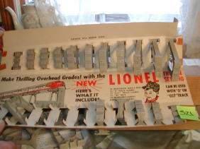 Lionel Trestle Set, Original Box