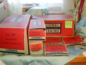 523: Four Lionel Boxes