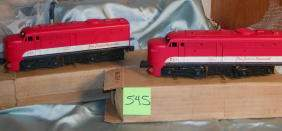 545: Lionel Twin Diesel Locomotive No 210,Texas Special