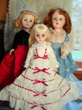 3 dolls: Sweet Sue, 2 MA Dolls