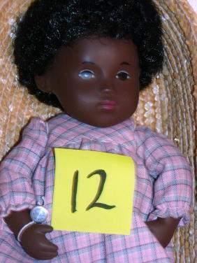 "12"" Sasha Black Baby Cara, Made in England"