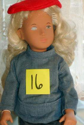 """16"""" Sasha in Sailing Suit, Made in England, Serie W"""