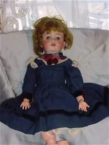 """40E: 17"""" Kestner 260 Character Doll, Original Clothing"""