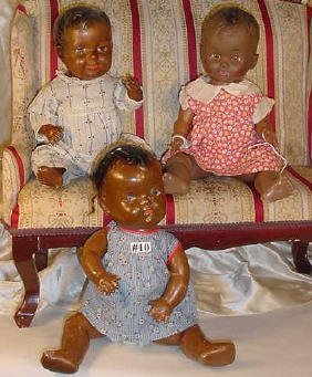 10: Three Black Baby Dolls