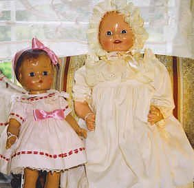 2 Re-issued Dolls by Effanbee and Horsman