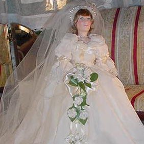 10_Diana, Princess of Wales, Wedding Gown,by Effanbee