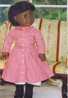 """23_Two 18"""" American Girl Dolls: Addy and Kit"""