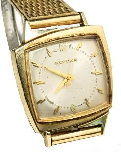"""Elvis Presley Owned Bulova Watch with """"EP"""" Engraved"""