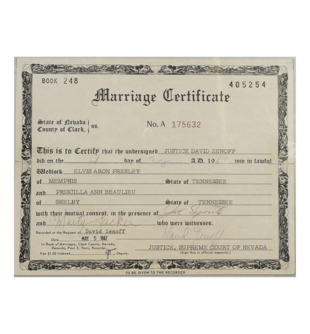 And priscilla presleys marriage certificate elvis and priscilla presleys marriage certificate 1betcityfo Gallery