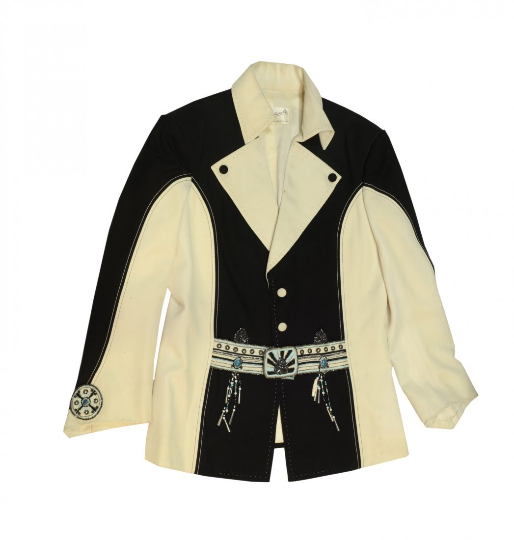 "Elvis Presley Black and White ""Penguin"" Suit"