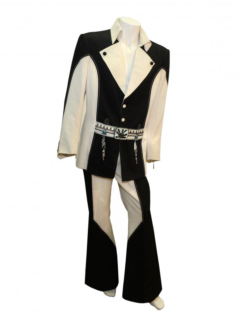 "Elvis Presley Black and White ""Penguin"" Suit - 2"