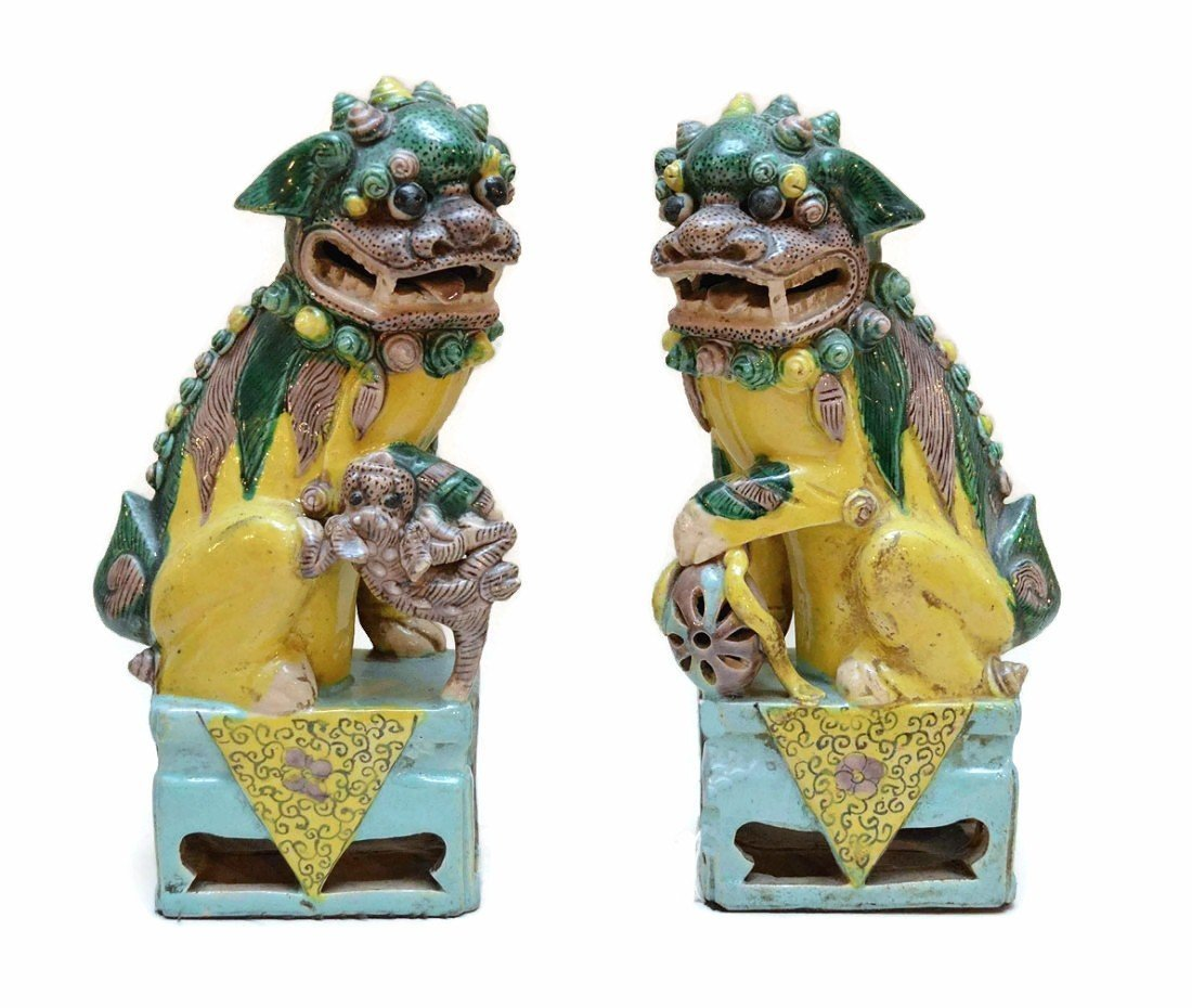 Very Fine PAIR of Chinese Foo Dogs