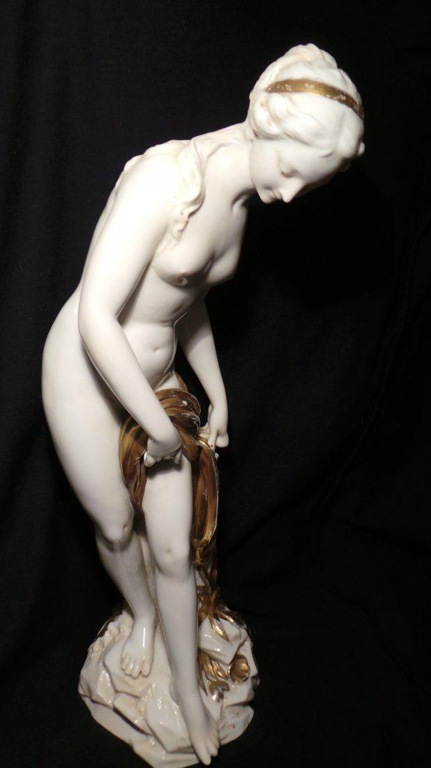 Antique Vienna style Aphrodite porcelain