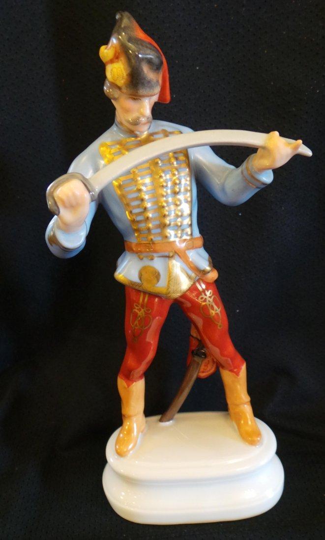 Original Herend Huszár - Cavalryman