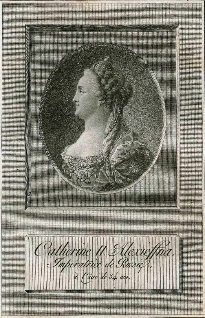 Catherine II. Empress of Russia. 1793.