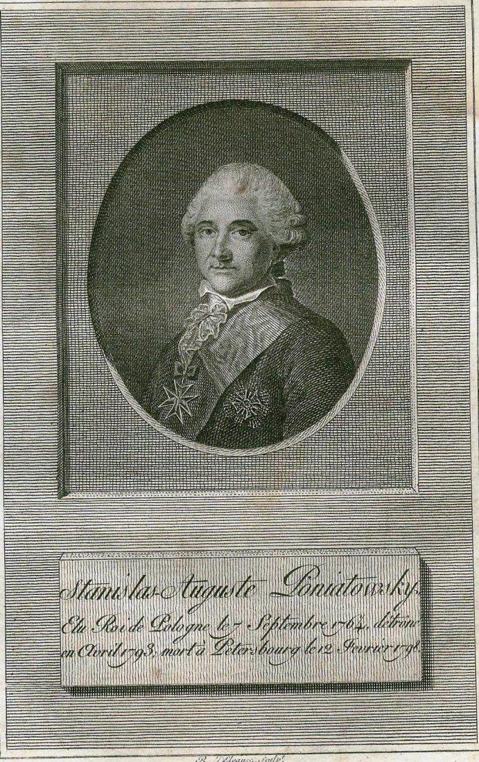 Stanislaw August Poniatowski. POLAND. 1793.