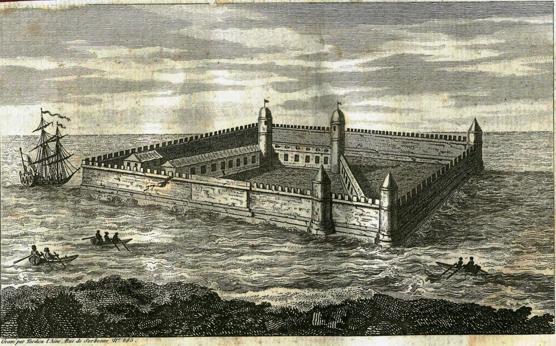 Fortress of Shlisselburg. RUSSIA. 1793.