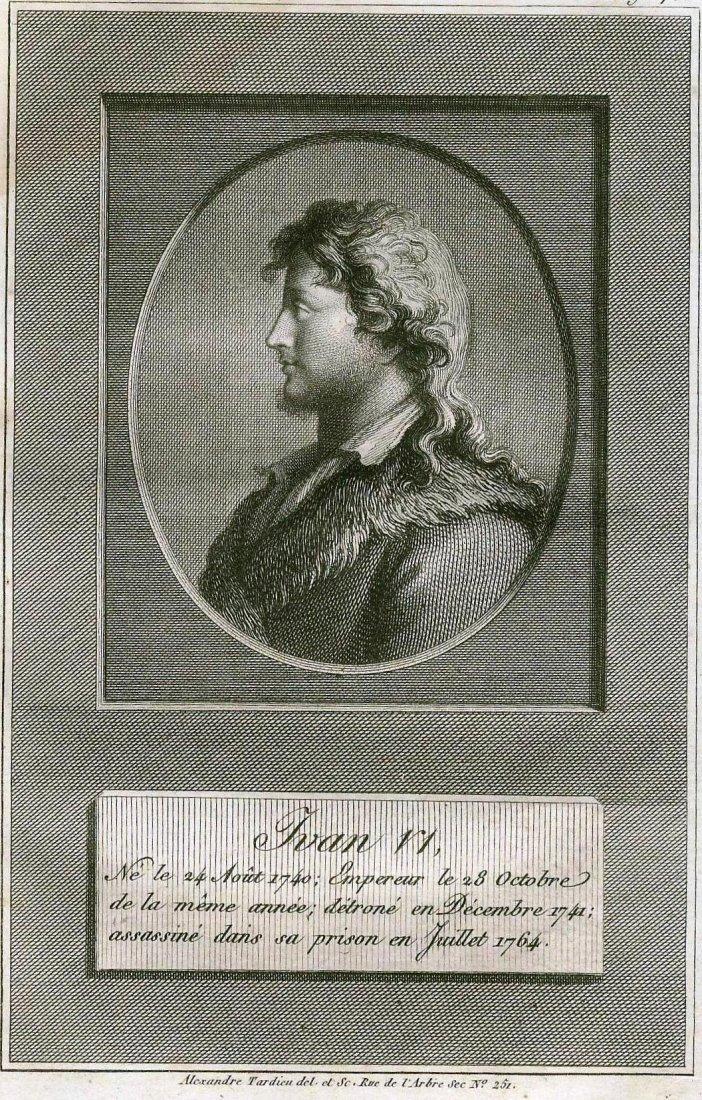 Ivan VI. RUSSIA. 1793.