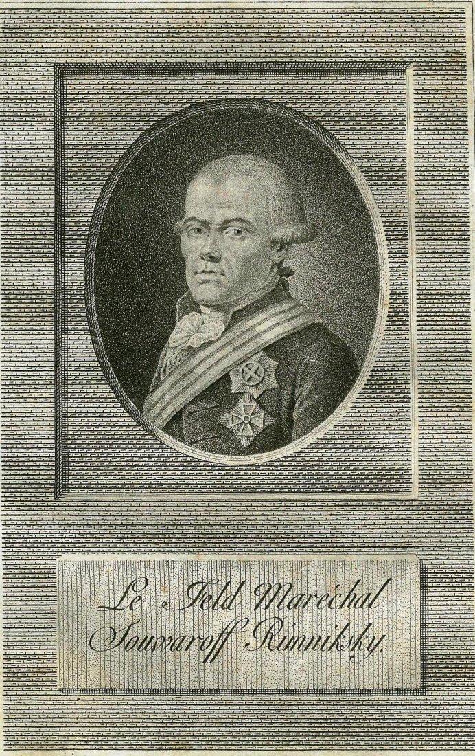 General Suvorov of Rymnik. RUSSIA. 1793.