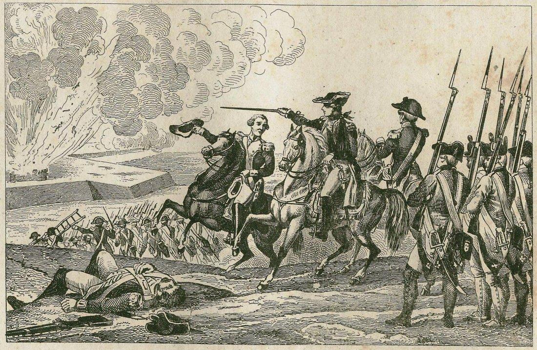 Battle of Pensacola. USA. 1781.