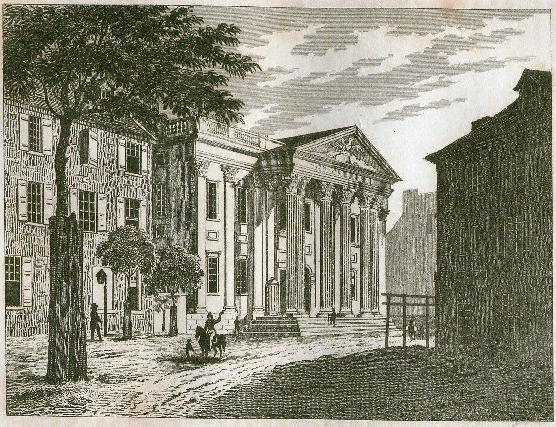The bank of Stephen Gerard. USA. 1837.