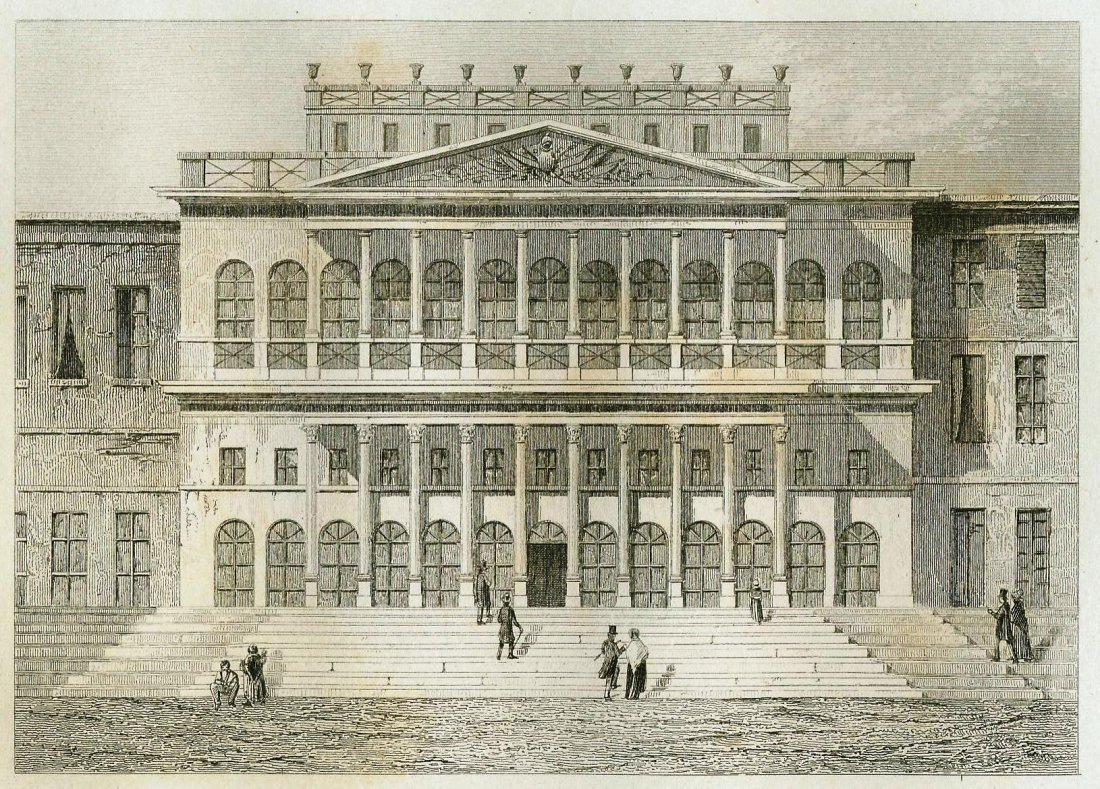 St. Charles Theatre in the New Orleans. USA.1835–1842.