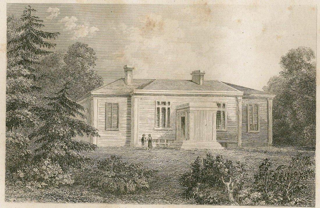 House of judge Halliburton. CANADA. 1849.