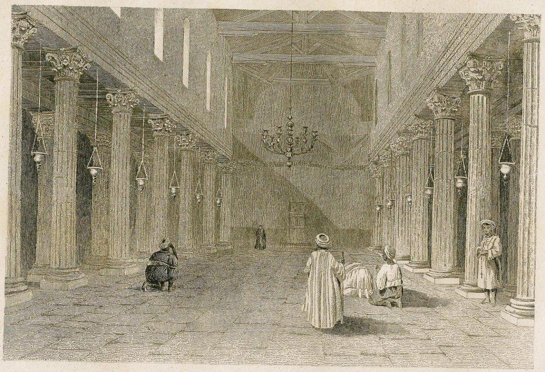 Church in Bethliem. ASIA. 1865.