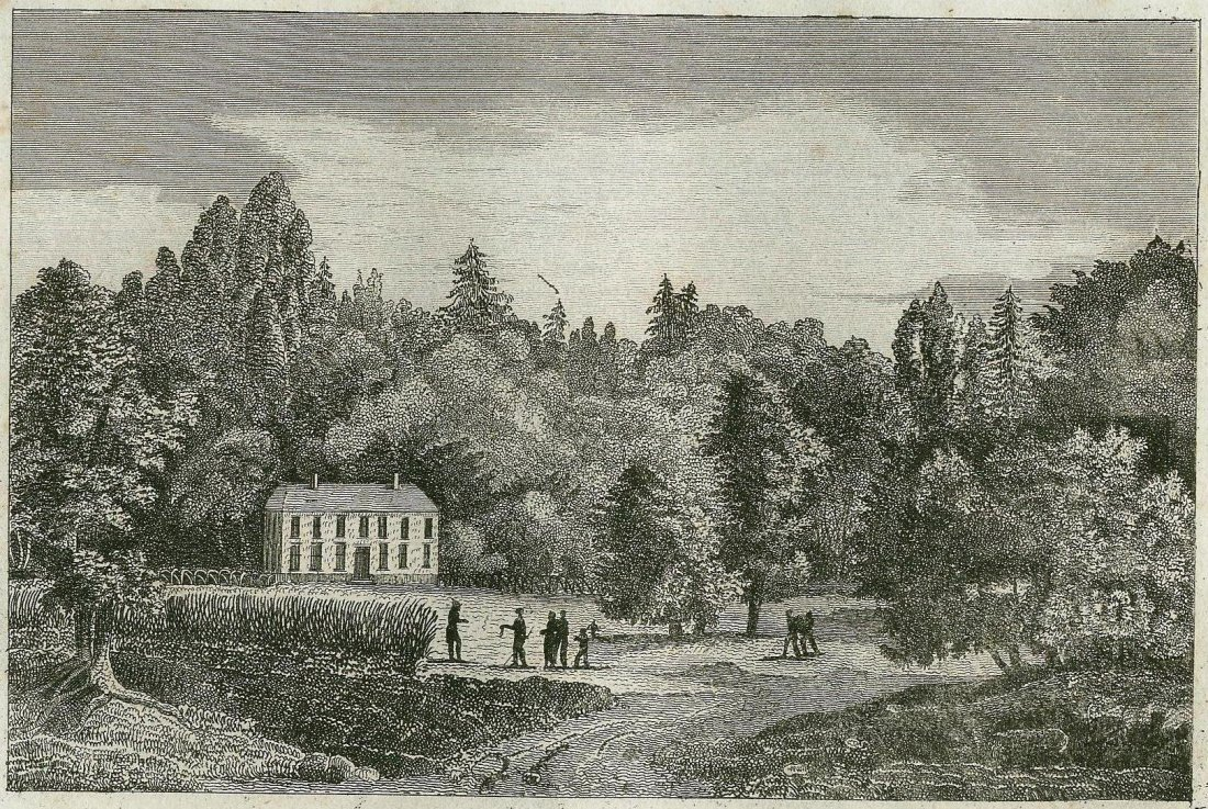 The house of the Sir Johnson. USA. ~ 18th.