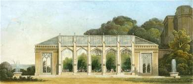 Gothic Conservatory England 1816