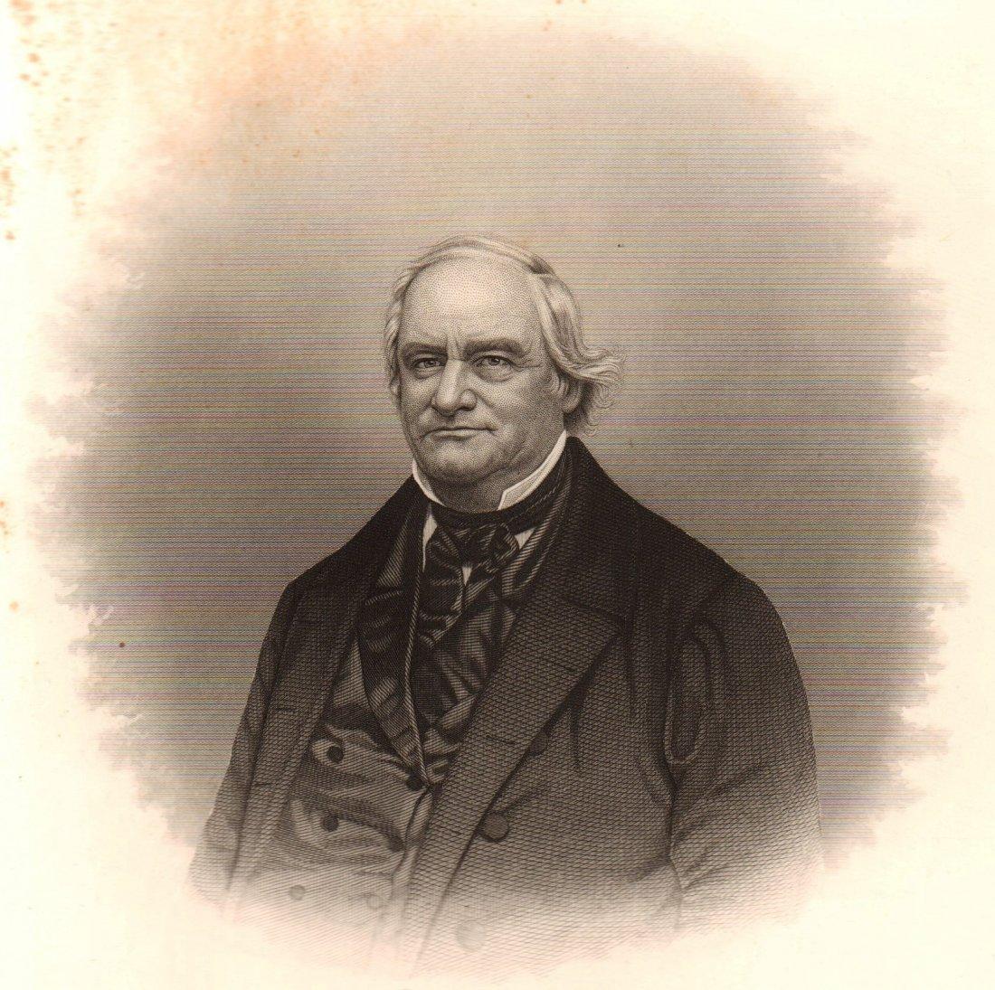 Portrait of Glezen Fillmore. USA. 19th.
