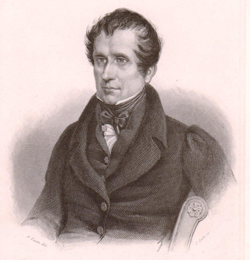 Portrait of I. Juinum Couper. USA. 1847.