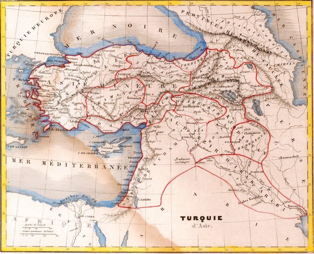 Asiatic Turkey. Asia. 1835.