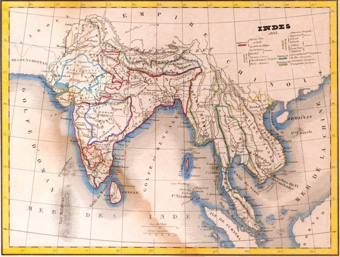 India at 1835. Asia. 1835.