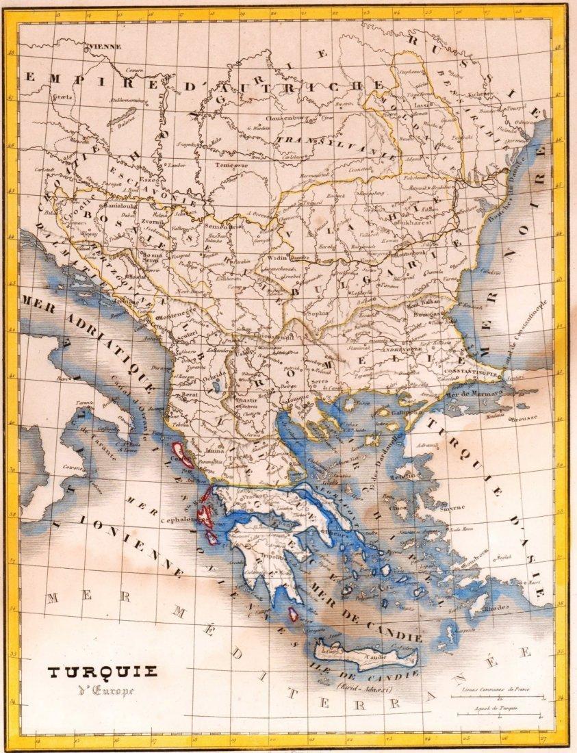 European Turkey. Europe/Asia. 1835.