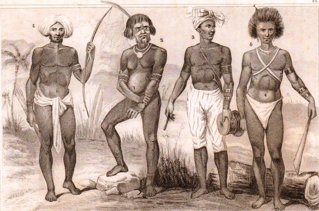 Inhabitant of Viti New Irland and New Guinea Islands.